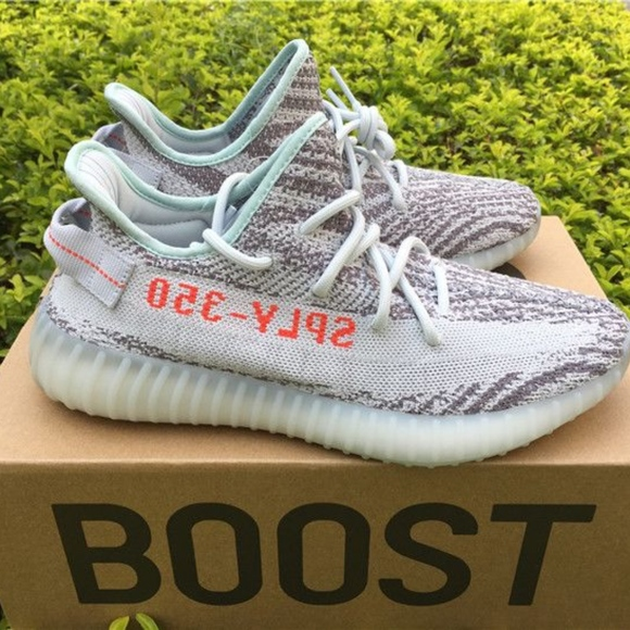 sale retailer 23b2a 92bee Adidas Yeezy Boost 350 V2 Blue Tint Boutique